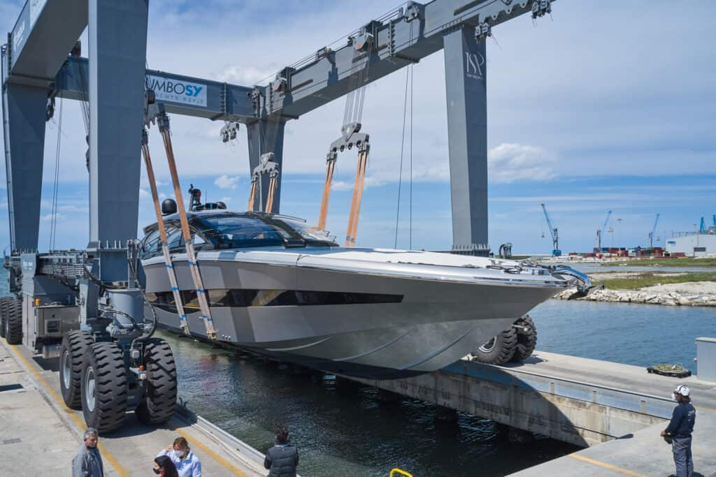 This is photo of a ISA Super Sportivo launch