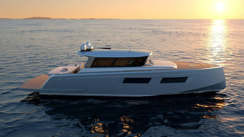 This is photo of a new Pardo GT52