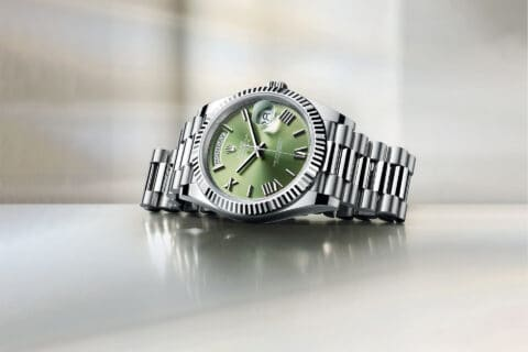 This is photo of a Rolex Day-Date