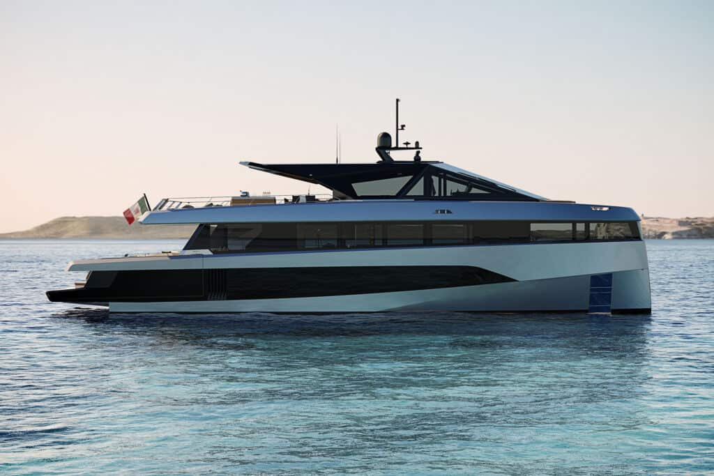 This is photo of a Wally WHY200 cannes yachts