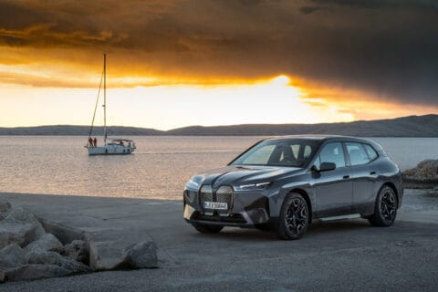 This is photo of a new BMW iX