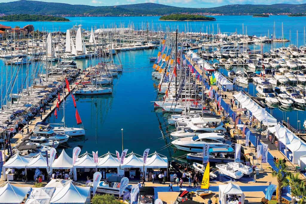 This is photo of a Biograd Boat Show