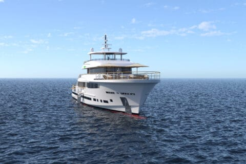 This is photo of a Explorer 49.5 concept