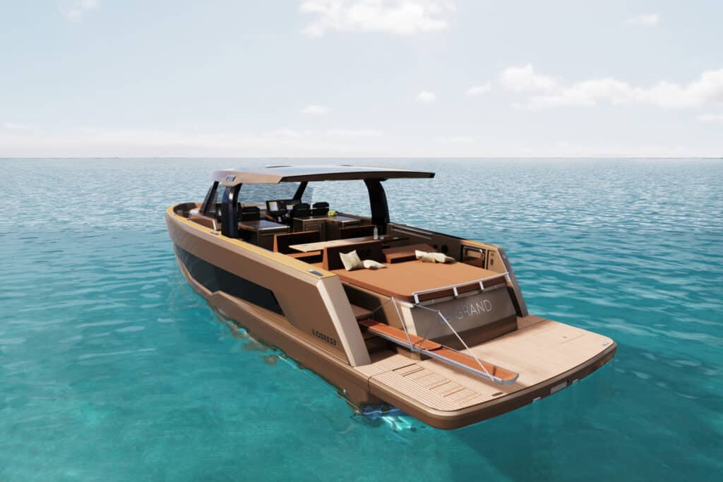 This is photo of a Fjord 53XL render