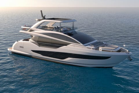 This is photo of a Pearl 72 exterior design
