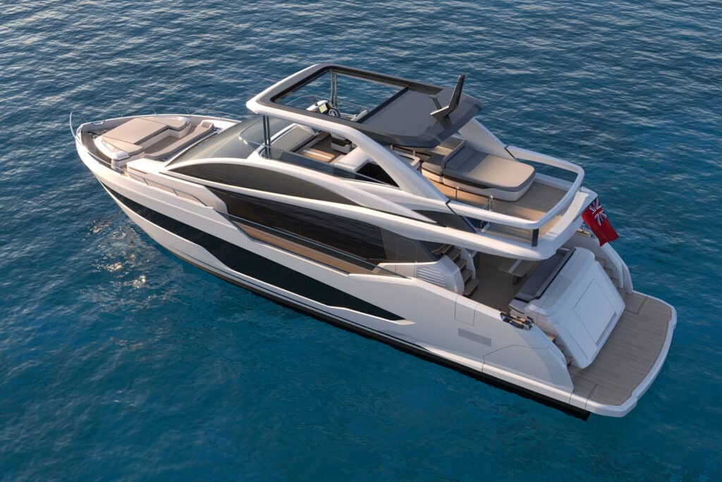 This is photo of a new Pearl 72 design