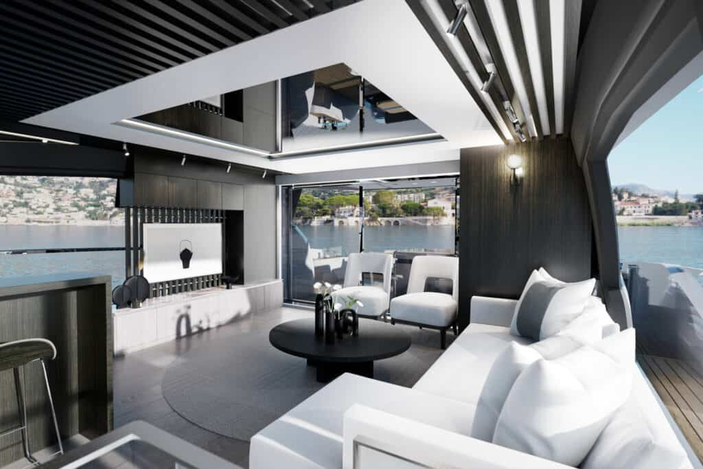 This is photo of a interior design on Pearl 72