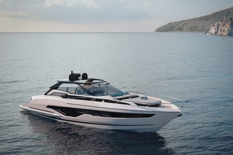 This is photo of a new Sunseeker Superhawk 55