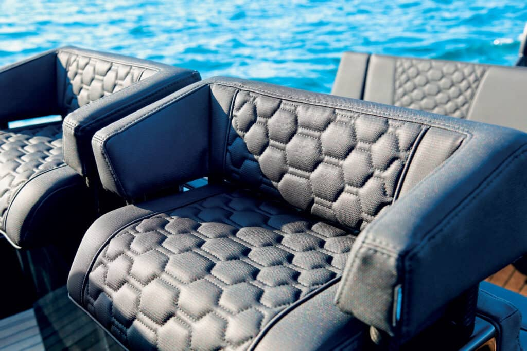 This is photo of a helm seats