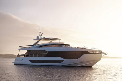 This is photo of a Azimut Grande 26metri