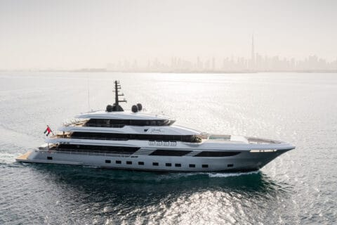 This is photo of a Gulf Craft Majesty 175